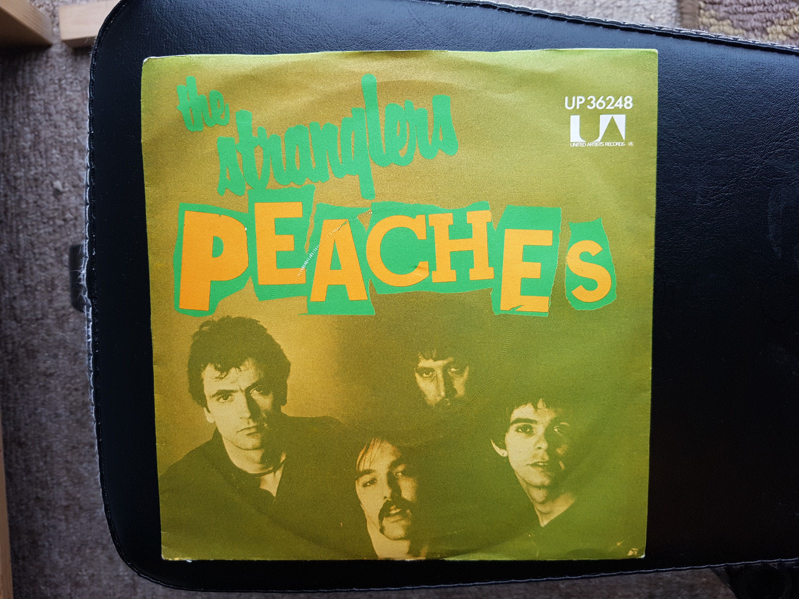 The Stranglers - Peaches Blackmail sleeve Original Promo copy Extremely rare