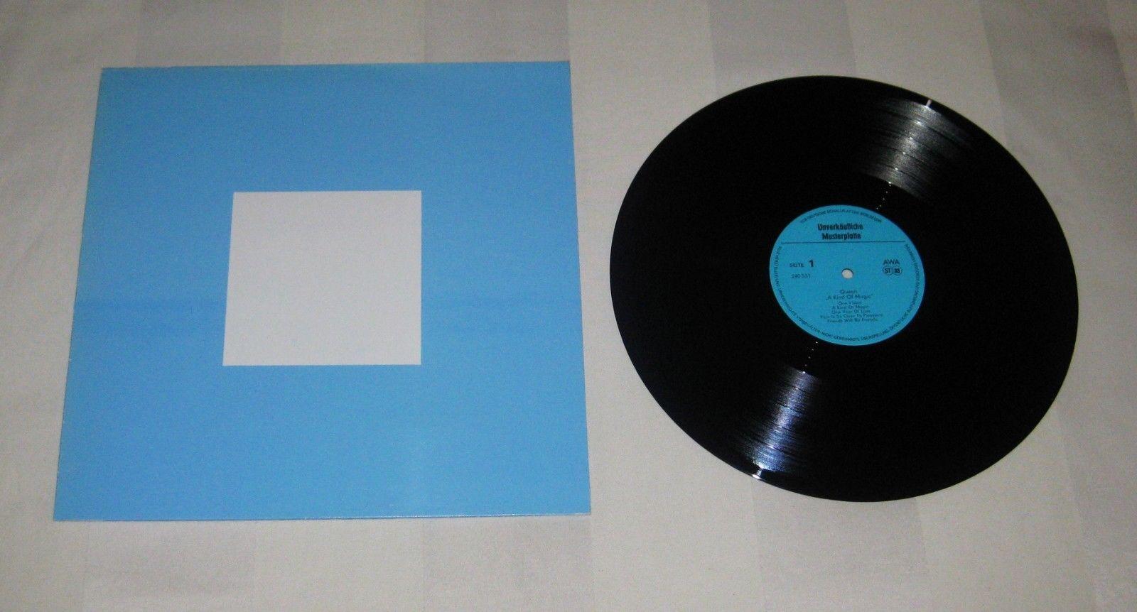 QUEEN : A Kind Of Magic, TEST PRESSING PROMO MUSTERPLATTTE Vinyl LP 1986 GDR