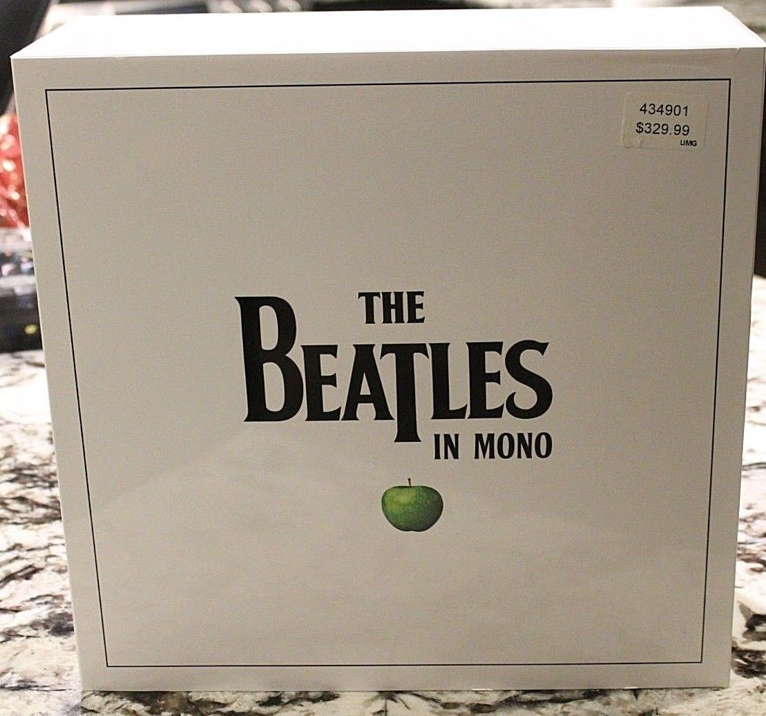 The Beatles in Mono Vinyl Box Set w/ book BRAND NEW ONLY TIME EVER OPENED IN PIC