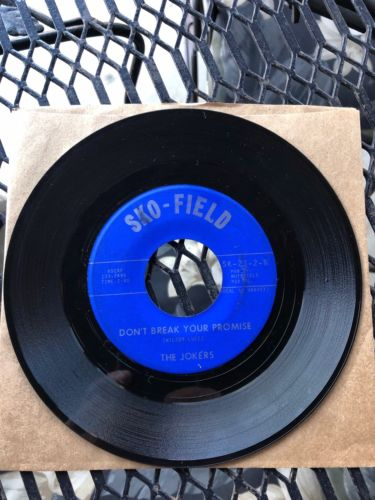"Rare Northern Soul 45 The JOKERS "" Soul Sound"" on Sko- Field New Orleans"