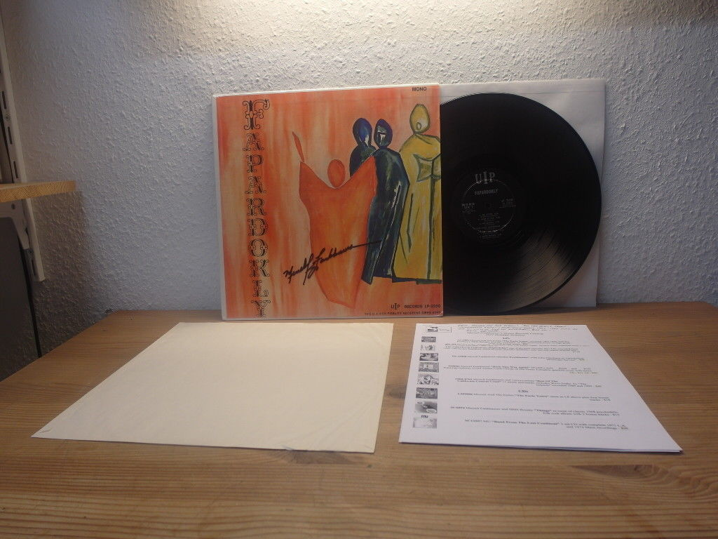 FAPARDOKLY - SAME UIP USA 1967 ORIGINAL LP MINT + SIGNED