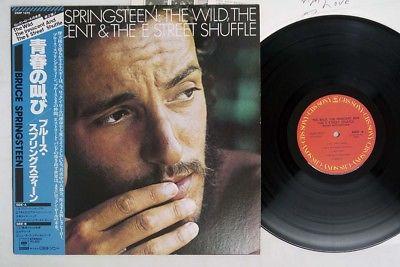 BRUCE SPRINGSTEEN WILD, INNOCENT&E STREER SHUFFLE CBS/SONY 25AP1273 Japan OBI LP