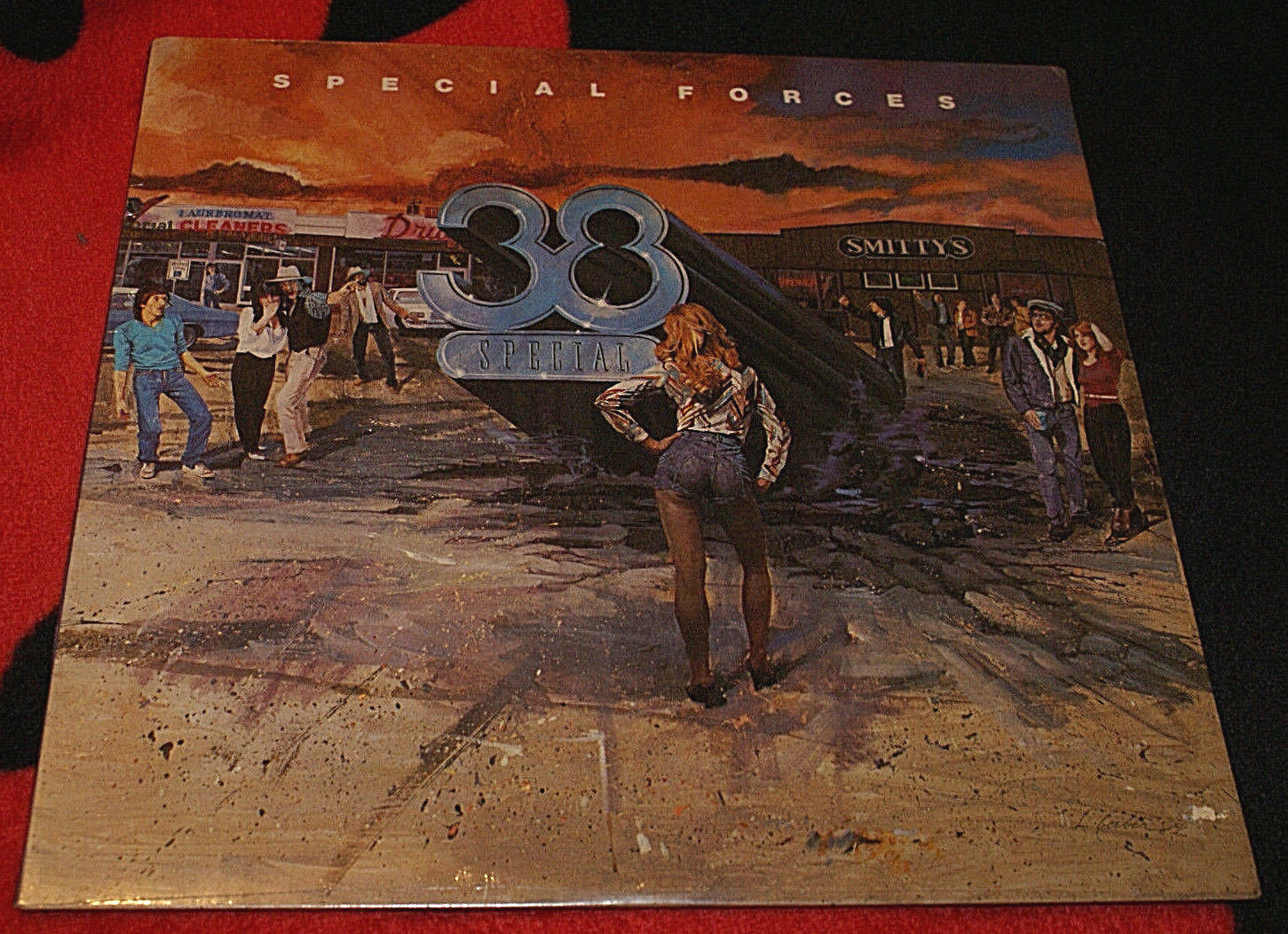 .38 Special Special Forces 1982 LP Record Album - SP-04888 New Sealed Oop