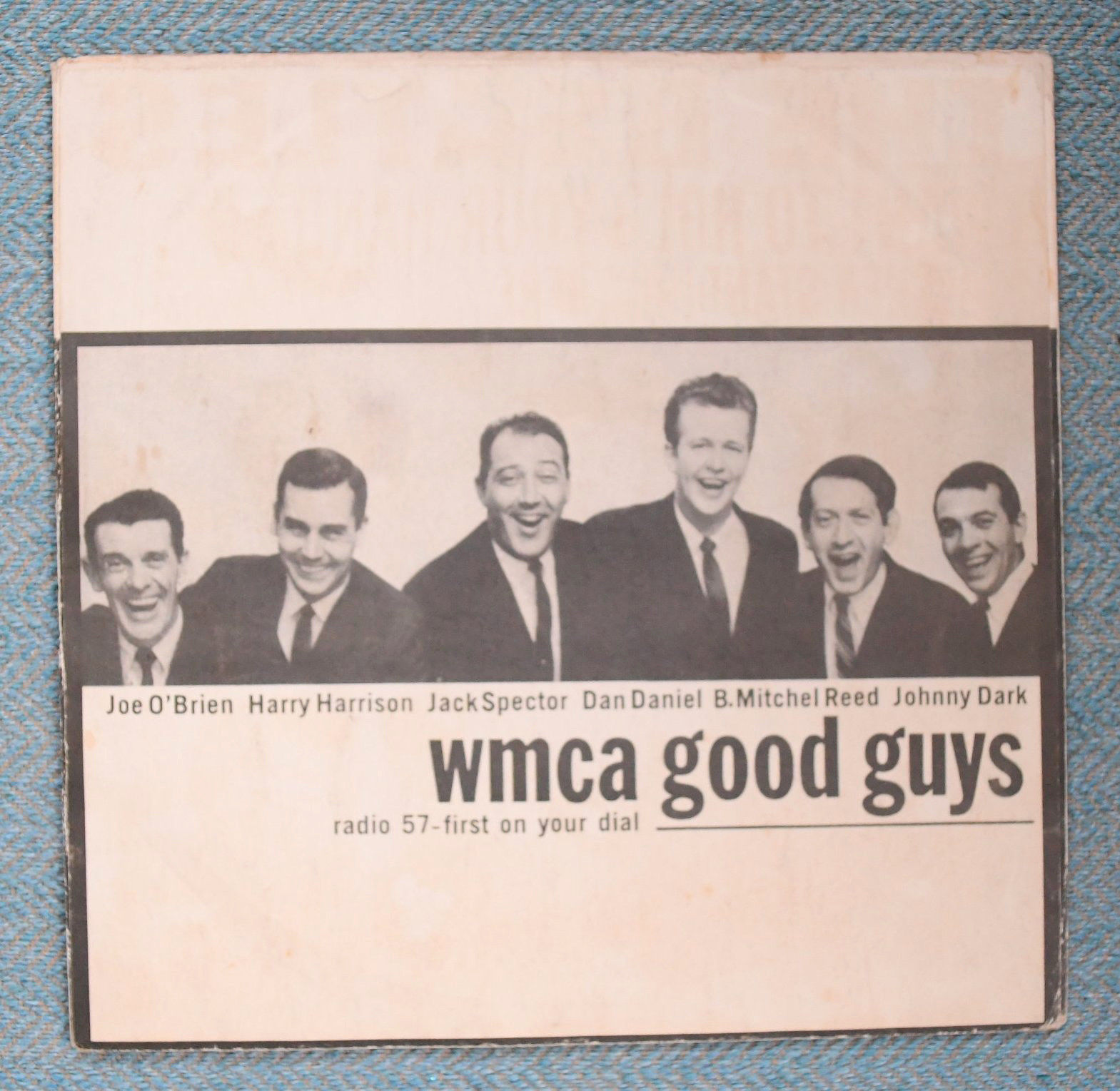 THE BEATLES, I want to hold, WMCA GOOD GUYS, Capitol-5112  cover only