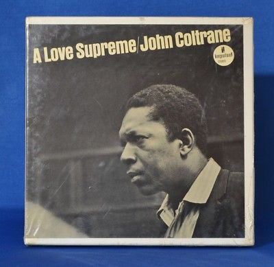 FAC SEALED? 7 1/2ips Coltrane A Love Supreme REEL TO REEL FREE SHIPPING
