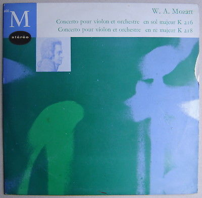 LP Paul MAKANOWITZKY, Ristenpart / Mozart Concertos.. / CFD 266 stereo