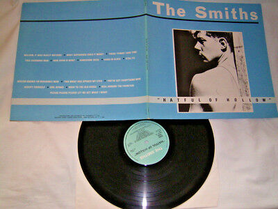 LP - The Smiths Hateful of Hollow - 1984 FOC UK # cleaned