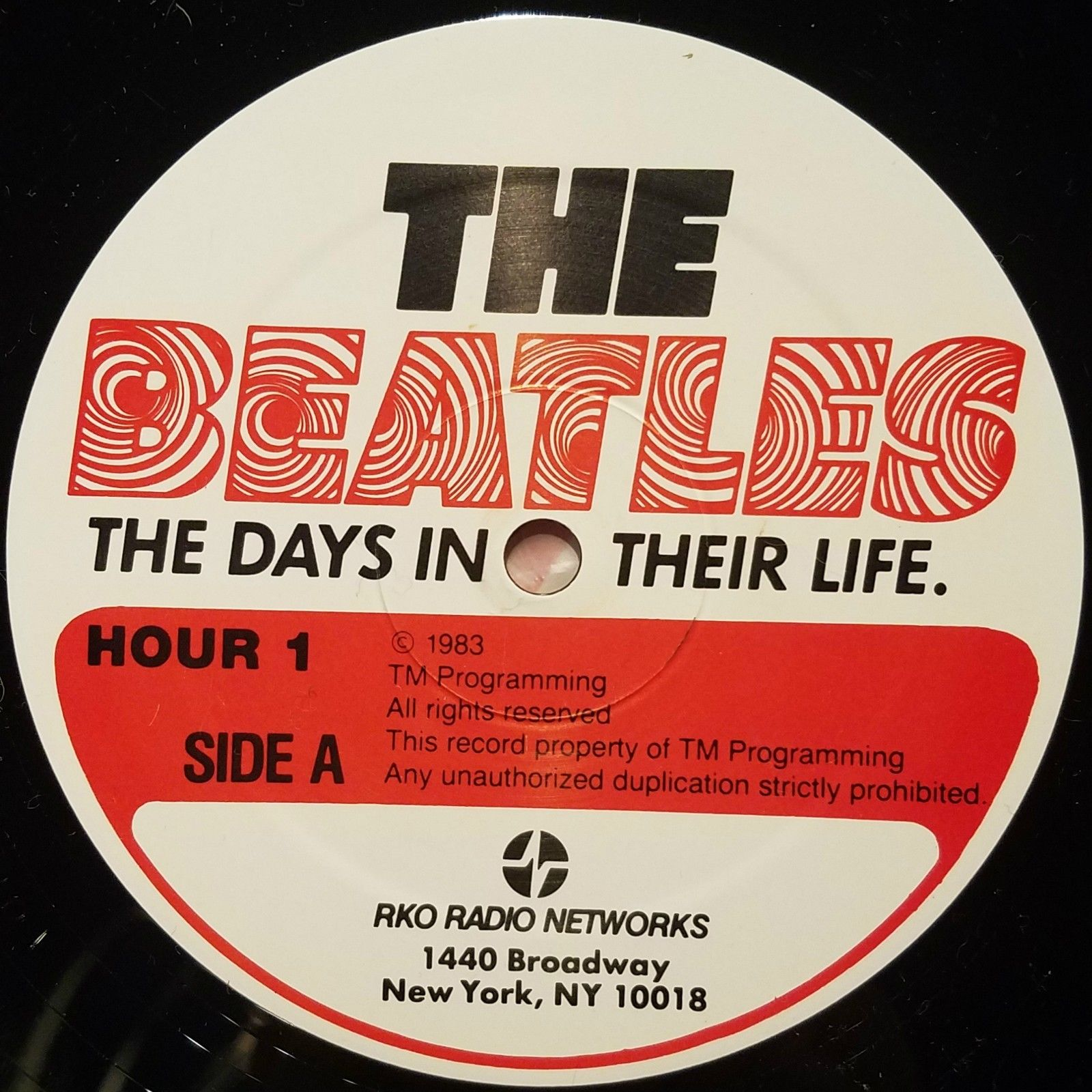 "Beatles ""The Days In Their Life"" - Radio Show 30 LP set w/ Cue sheets"