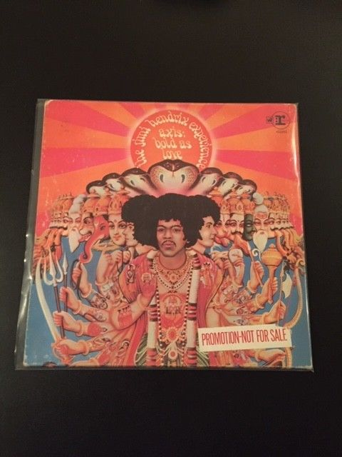 Jimi Hendrix, Axis Bold As Love, Mono, 1967, Mint Condition