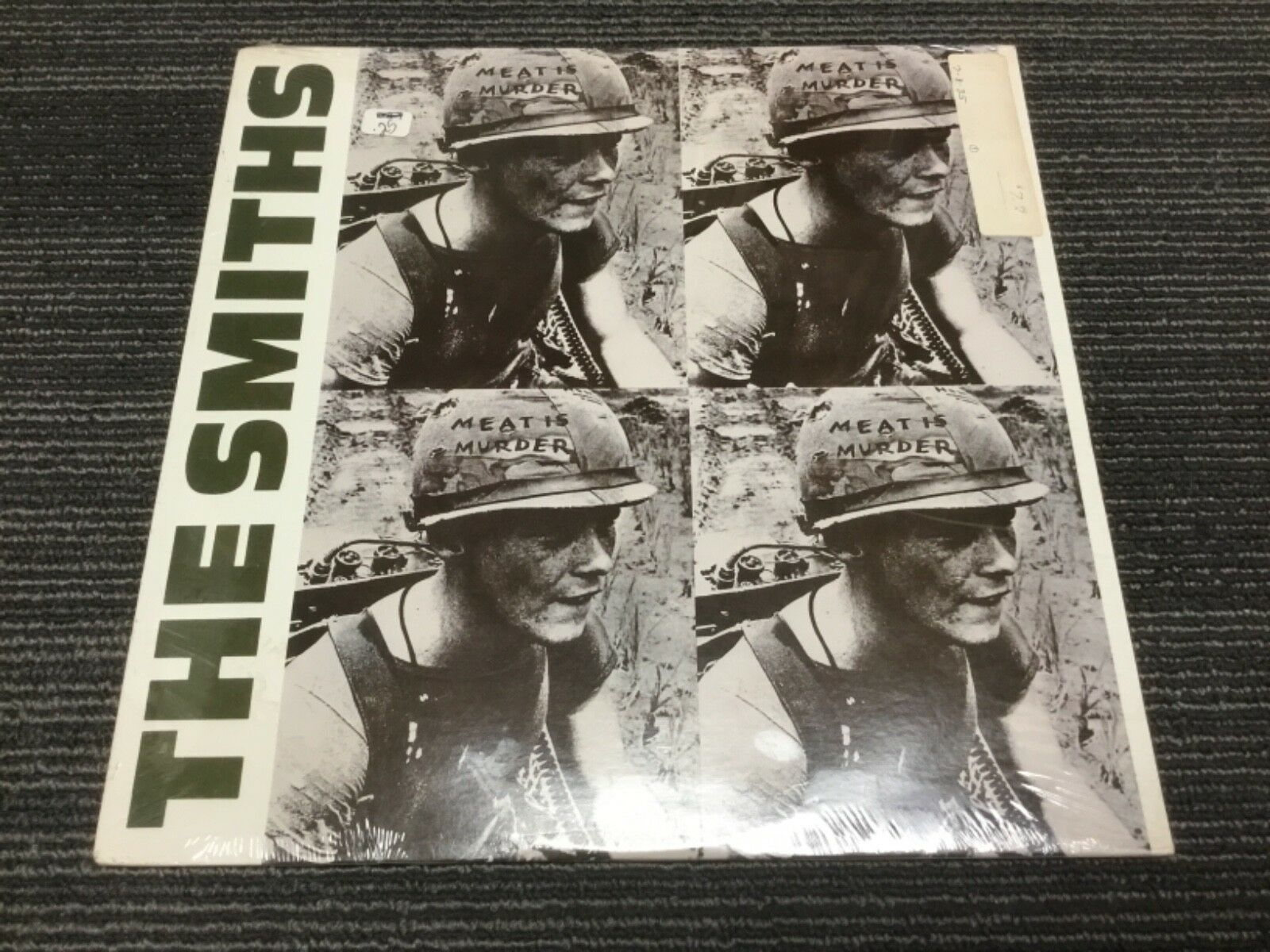 SEALED THE SMITHS - MEAT IS MURDER VINYL LP RECORD SIRE RECORDS 1-25269