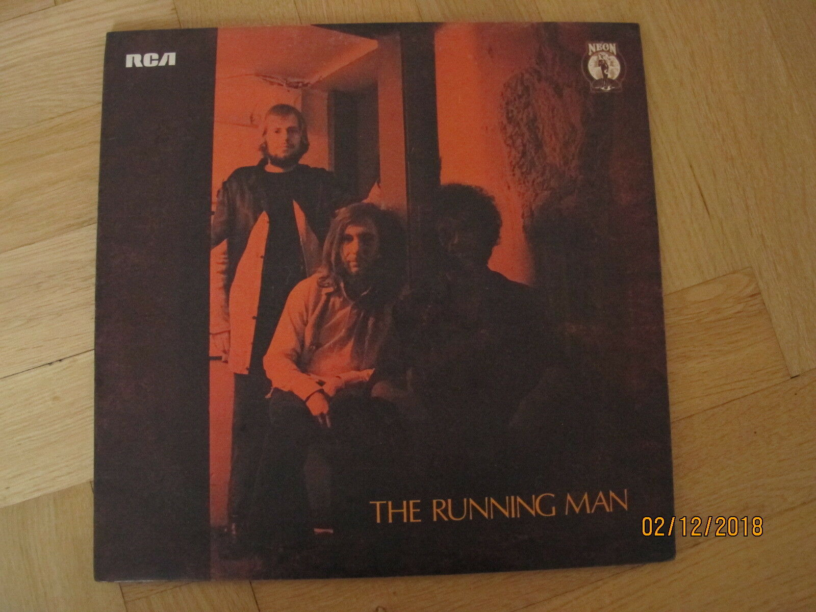 Running Man UK LP 1972 NEON MONSTER HEAVY PSYCH PROG **** AWESOME