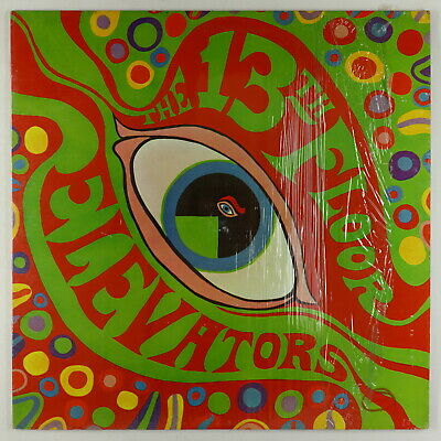 13th Floor Elevators - Psychedelic Sounds LP - International Artists Mono PROMO