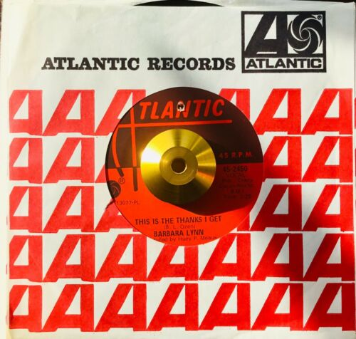 *** BARBARA LYNN ** THIS IS THE THANKS I GET **NORTHERN SOUL CLASSIC