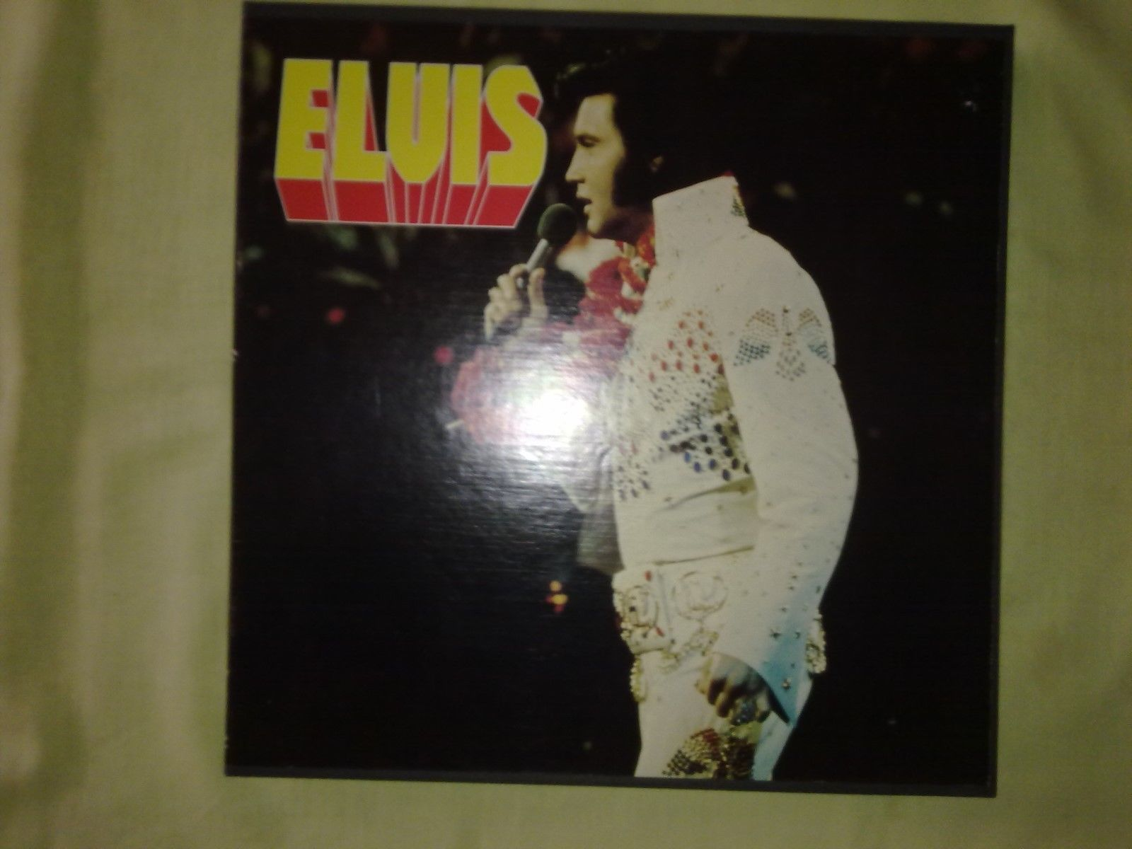 ELVIS PRESLEY 100 SUPER ROCKS 7 LP BOX SET 1976 (EX) (FRENCH ISSUE)