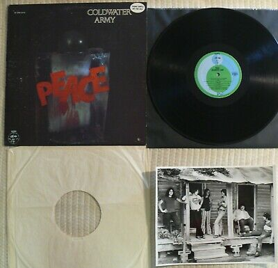 Coldwater Army Peace  ORIG 1971 US 1st PRESS PROMO PACK  AGAPE AS 2600
