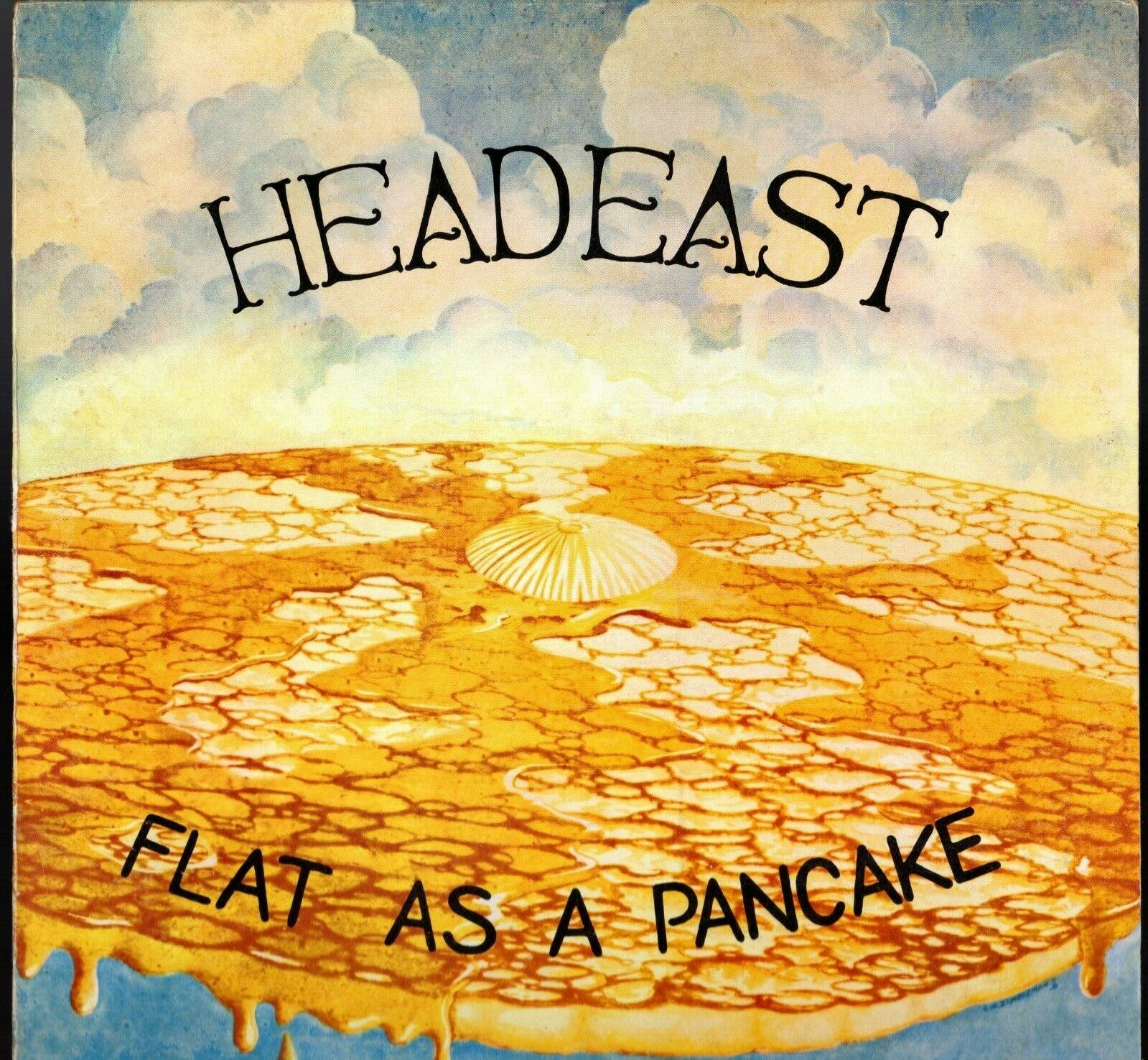 """Head East """"Flat As A Pancake"""" 1974 US Pyramid Records First Press Stock Album"""