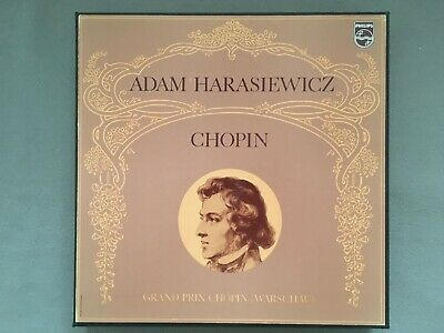 F442 Chopin Adam Harasiewicz 14LP Philips 6747 017 Stereo SIGNED