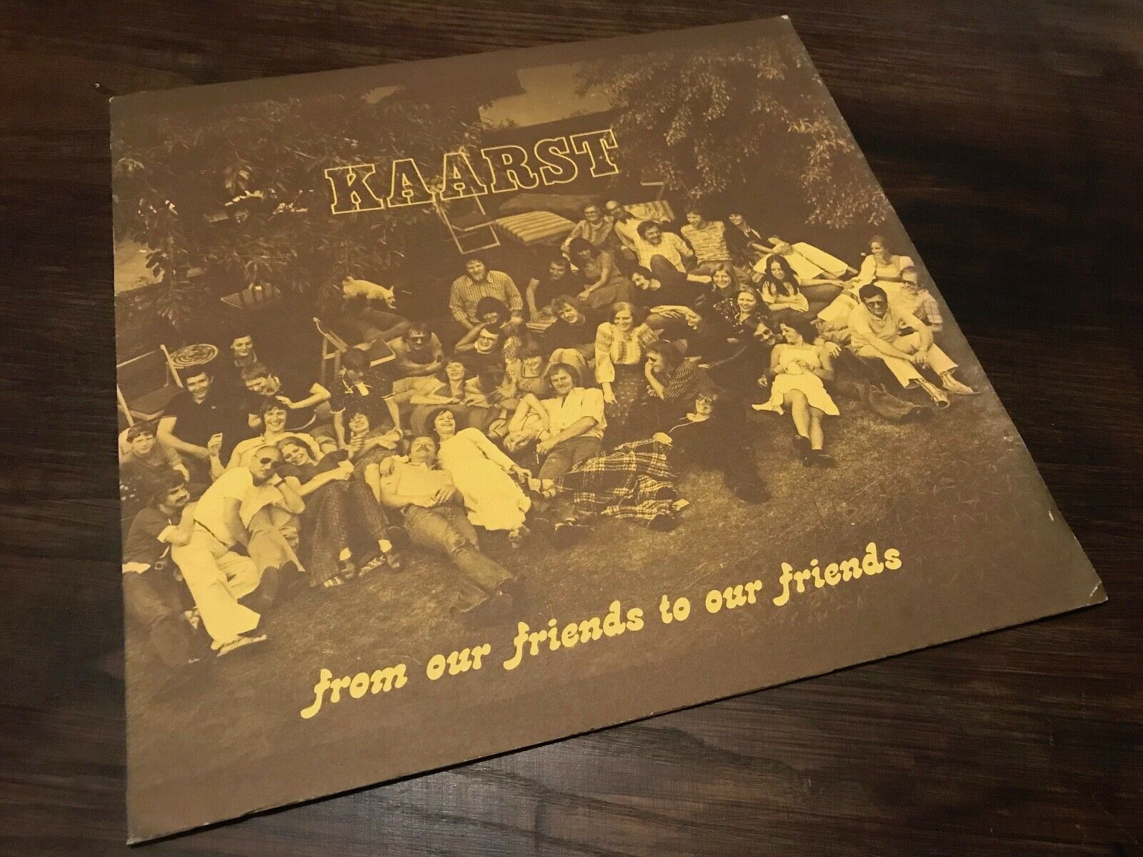 Kaarst ?– From Our Friends To Our Friends 1976 PRIVATPRESSUNG/ JAZZ KRAUTROCK