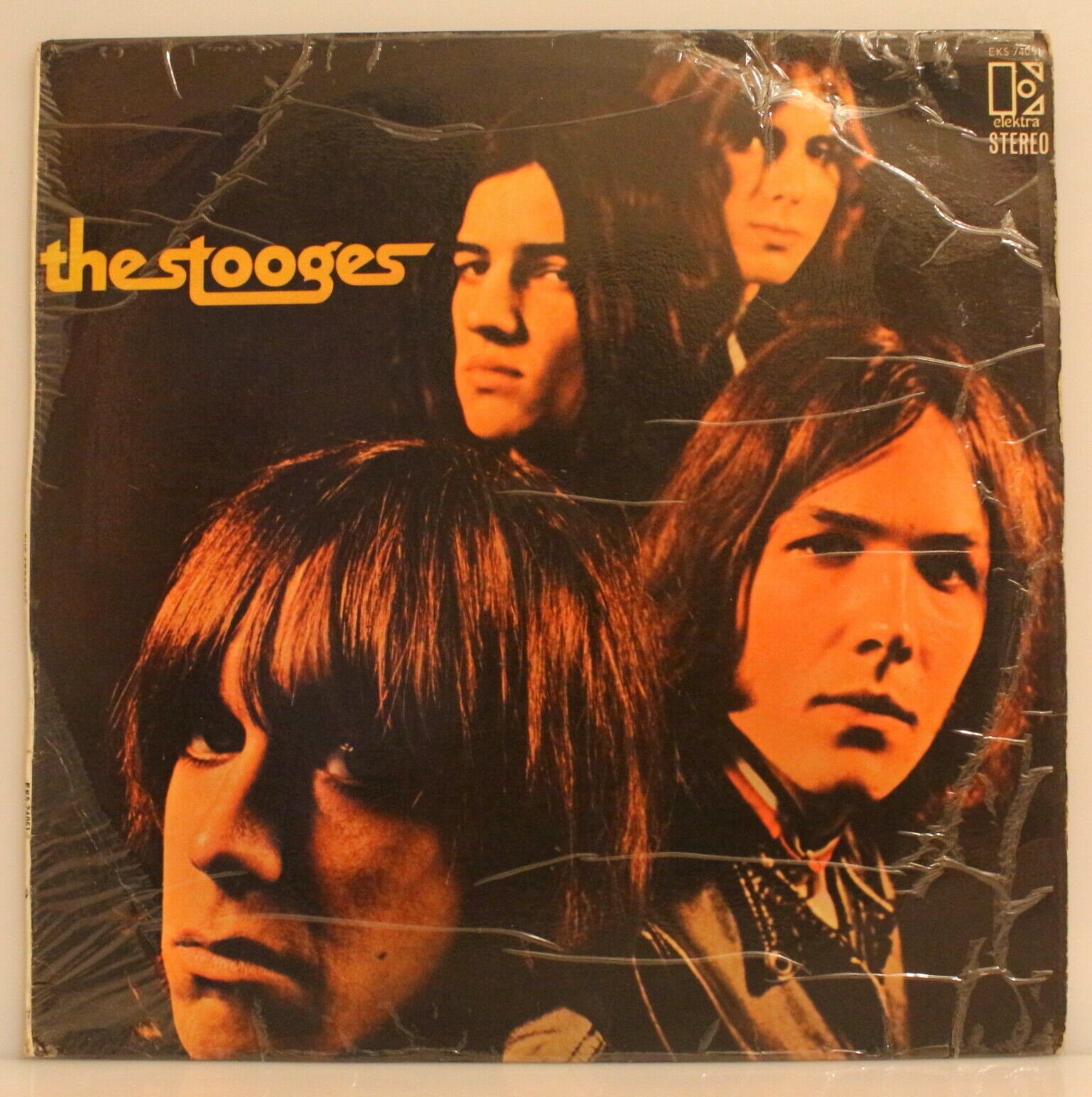 Impossibly Rare THE STOOGES self-titled 1969 SOUTH AFRICA (EKS 74051)