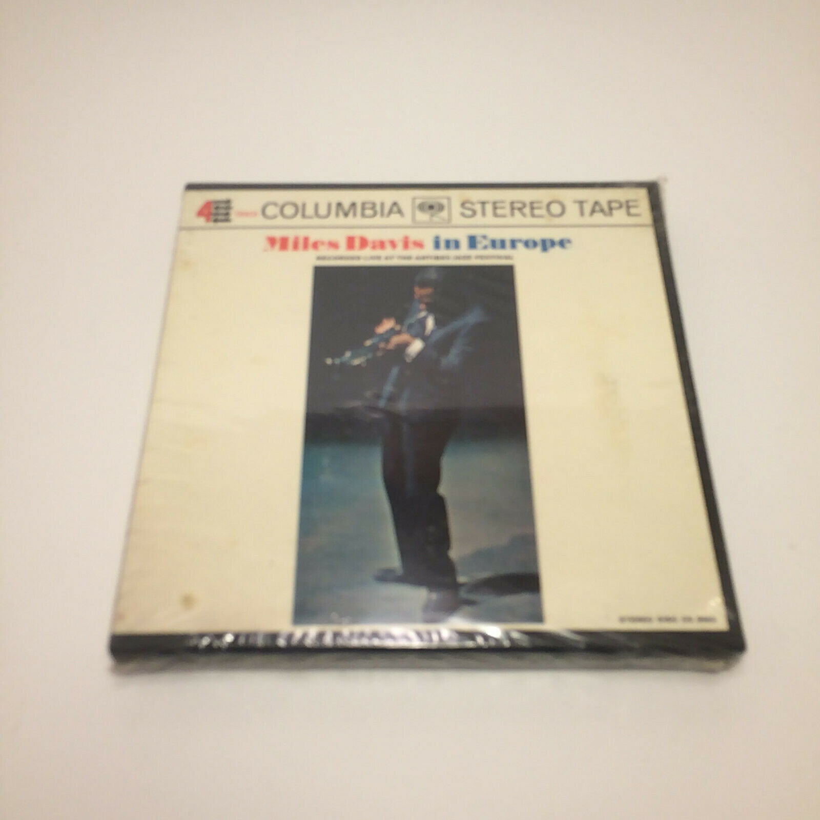Miles Davis Miles Davis In Europe CQ645 Reel To Reel 7 1/2 IPS New Sealed