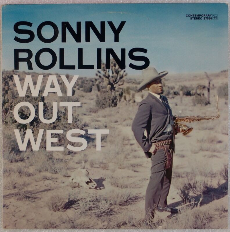SONNY ROLLINS: Way Out West US Contemporary S7530 Jazz LP NM- Vinyl