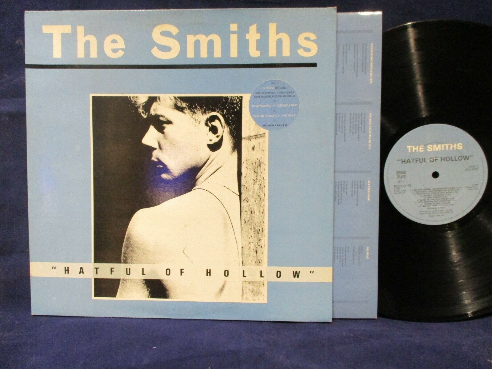 The Smiths 'Hateful Of Hollow' LP UK PRESS