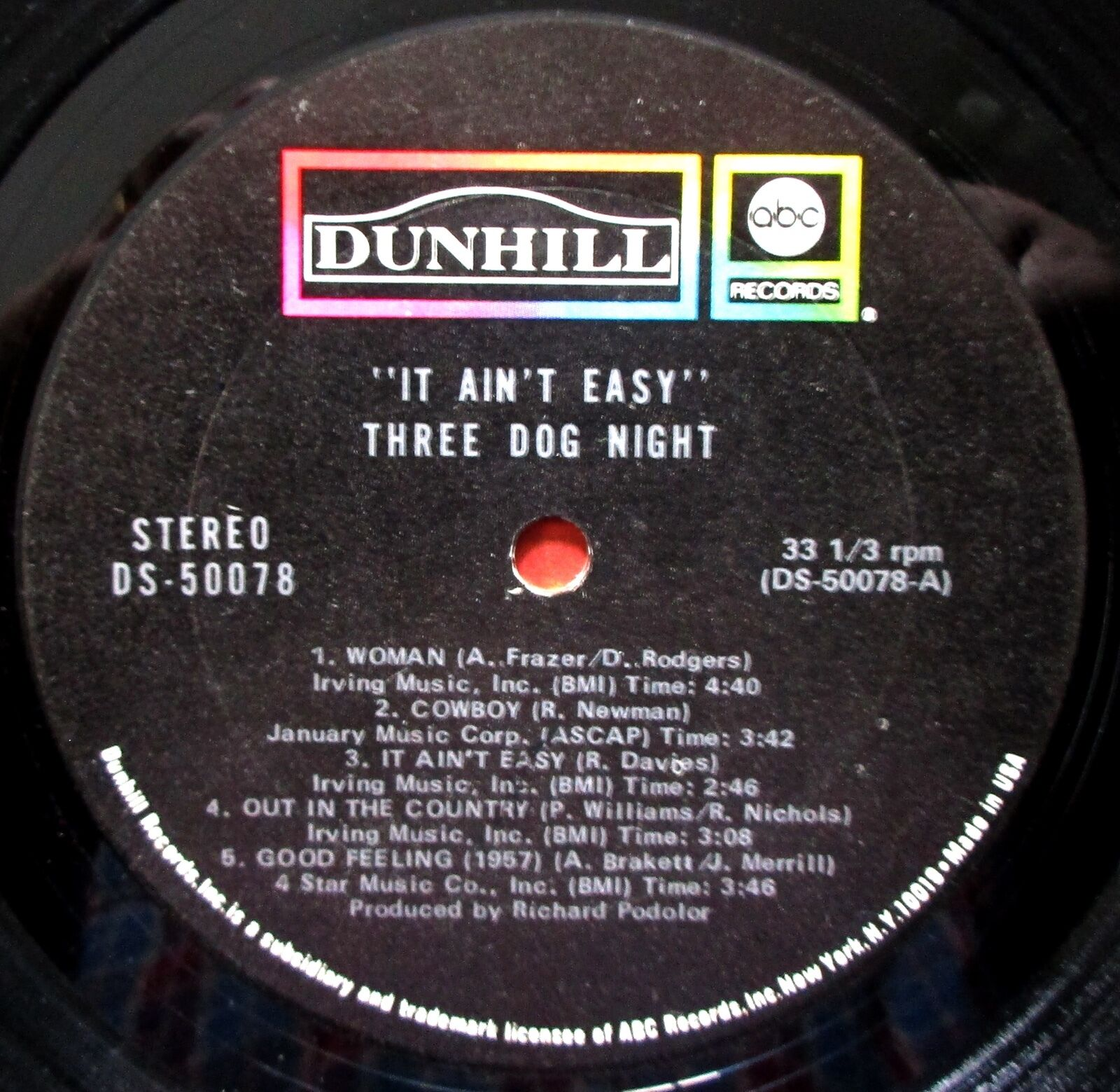Three Dog Night - It Aint Easy   Releases   Discogs