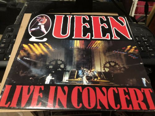 Queen Live In Concert Rare New Zealand Original Lp Live Sleeve