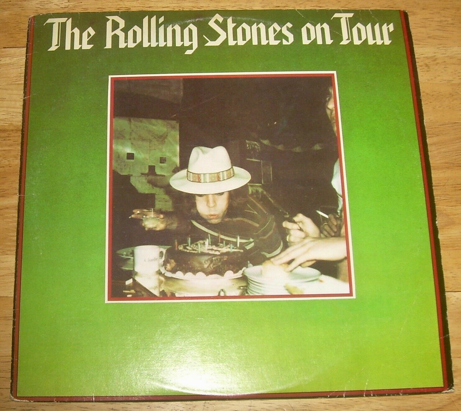 The ROLLING STONES On Tour 2-LP set rare Live concert Anaheim California 1978