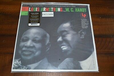 Louis Armstrong Plays W.C. Handy - ANALOG SPARK vinyl record LP OOP New & SEALED