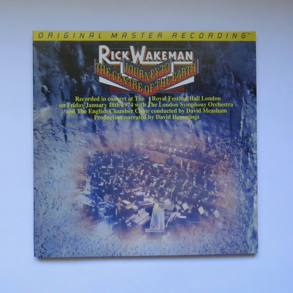 popsike.com - Rick Wakeman Journey To The Center of the ...