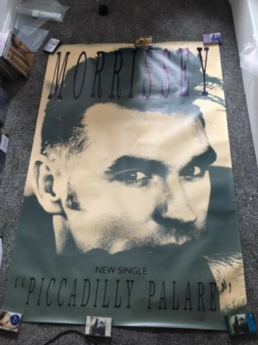 Morrissey - Piccadilly Palare Subway Size Poster The Smiths