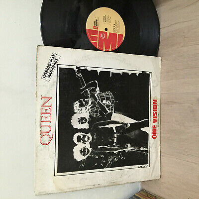 """Queen 33 rpm Philippines 12"""" EP LP one vision"""