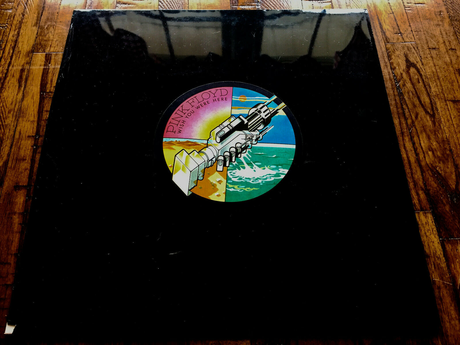 PINK FLOYD WISH YOU WERE HERE 1ST UK SHVL 814 SEALED IMPOSSIBLY RARE