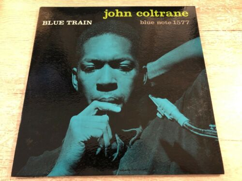 John Coltrane ?Blue Train Vinyl LP 1957 Mono 47 West 63st St. NYC Blue Note 1577