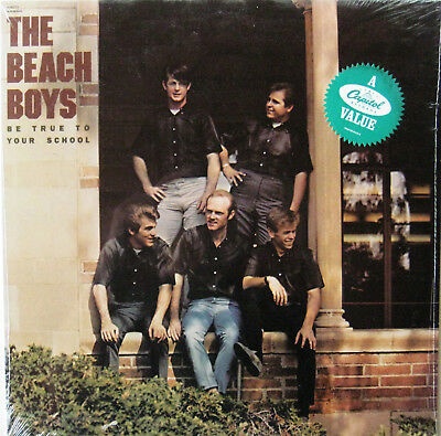 """Beach Boys """"Be True To Your School"""" - Sealed 1982 1st Press US Capitol Mono LP"""