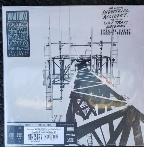Wax Trax Industrial Accident RSD 2019 Record Store Day vinyl NEW (Los Angeles)