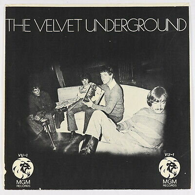Radio Spot Picture Sleeve Only - Velvet Underground - MGM - rare promo-only