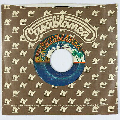 Hard Rock 45 - Kiss - Let Me Go, Rock 'N Roll - Casablanca - rare issue copy