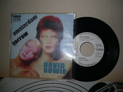 """DAVID BOWIE - Mexican - promo 7"""" from pinups - info sheet & mini poster, Mexico"""