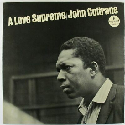 John Coltrane - A Love Supreme LP - Impulse - A-77 Mono RVG VG++ PROMO