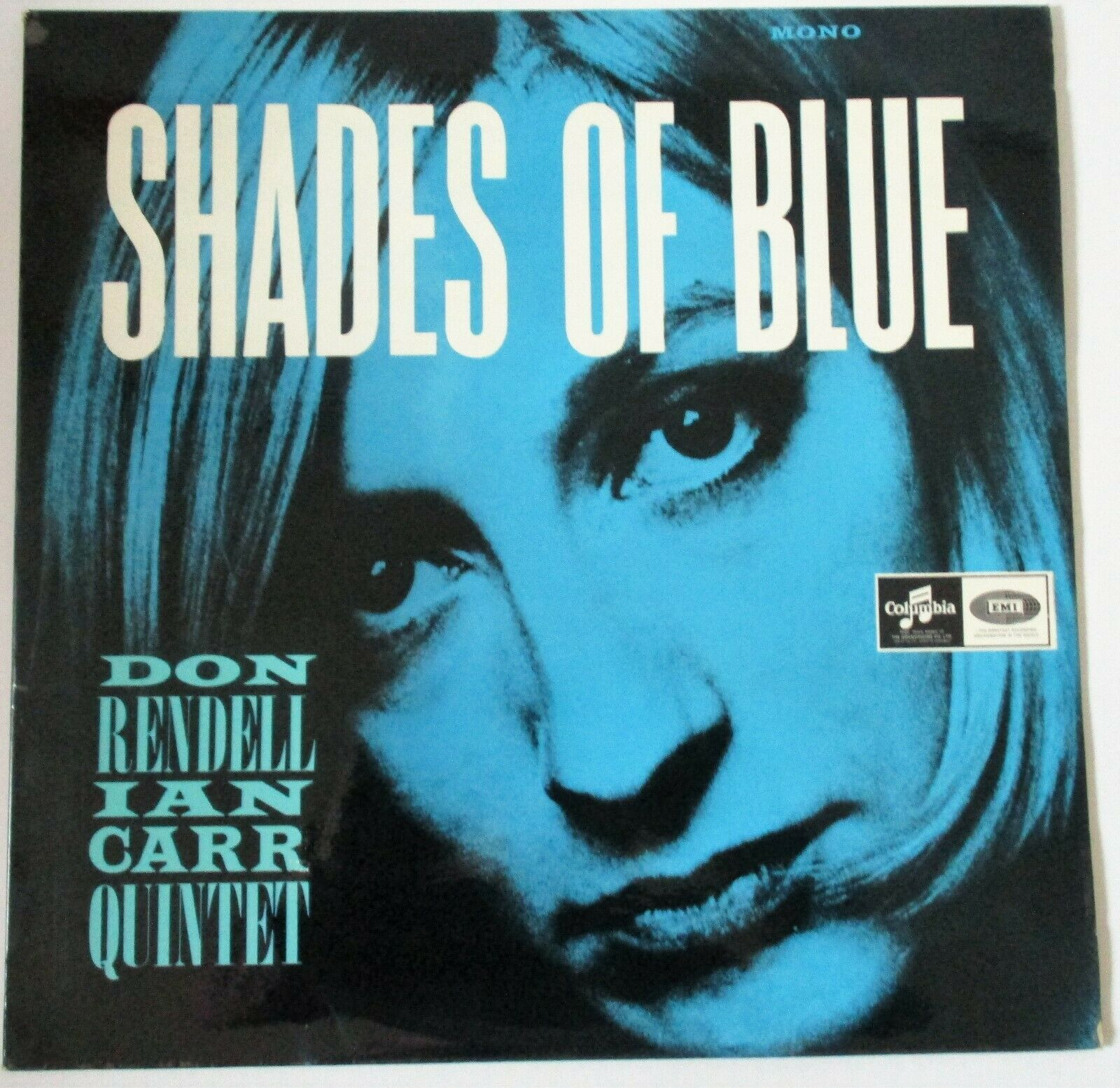 DON RENDELL IAN CARR QUARTET SHADES OF BLUE 1965 COLUMBIA  ORIGINAL HOLY GRAIL