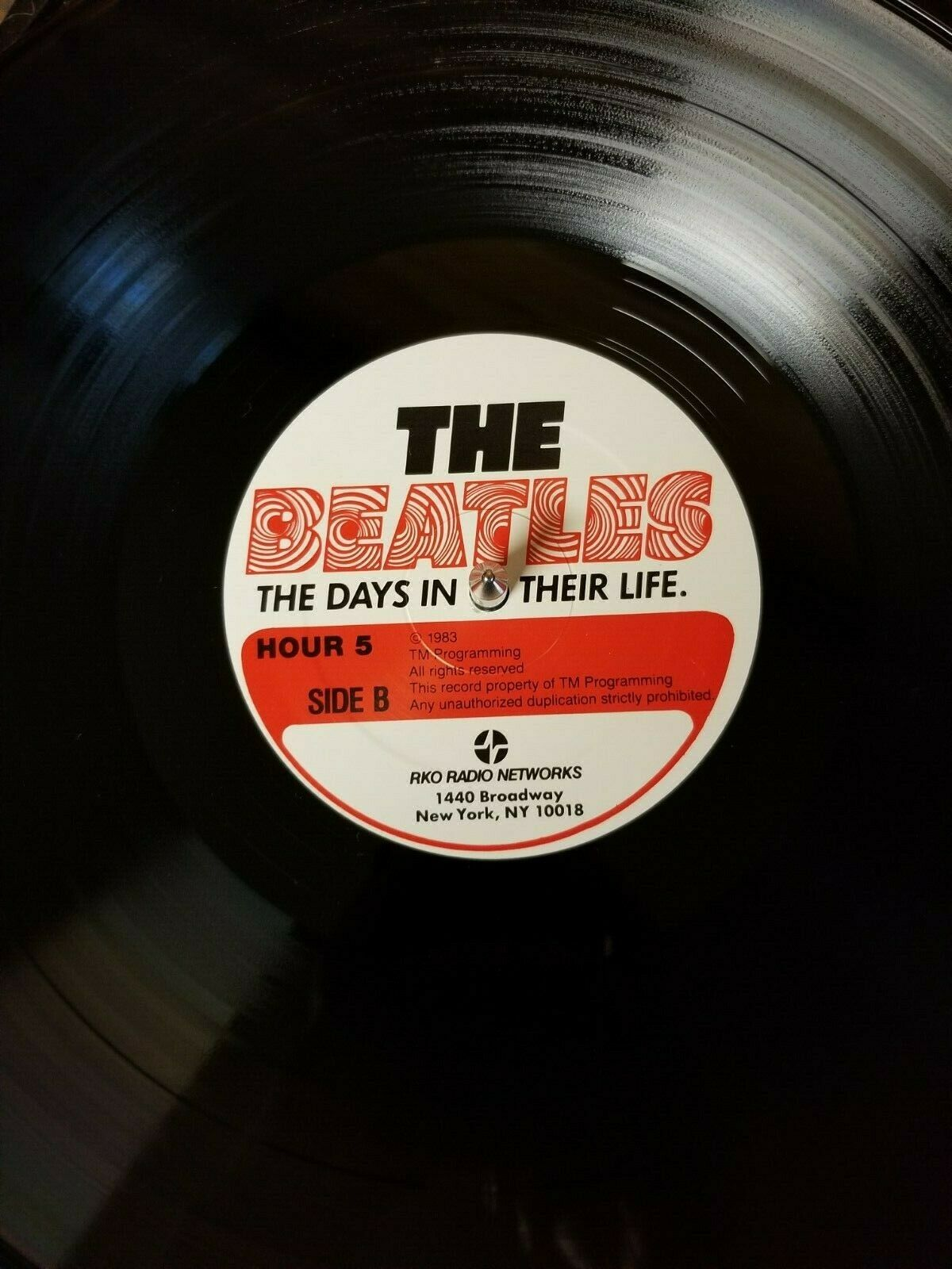 THE BEATLES: THE DAYS IN THEIR LIFE, 30 LPs, 30 HRS, RADIO SHOW/SPECIAL, EX/NM