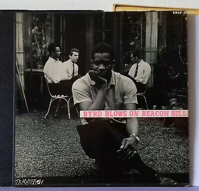 Donald Byrd Byrd blows on Beacon Hill Transition with booklet original very rare