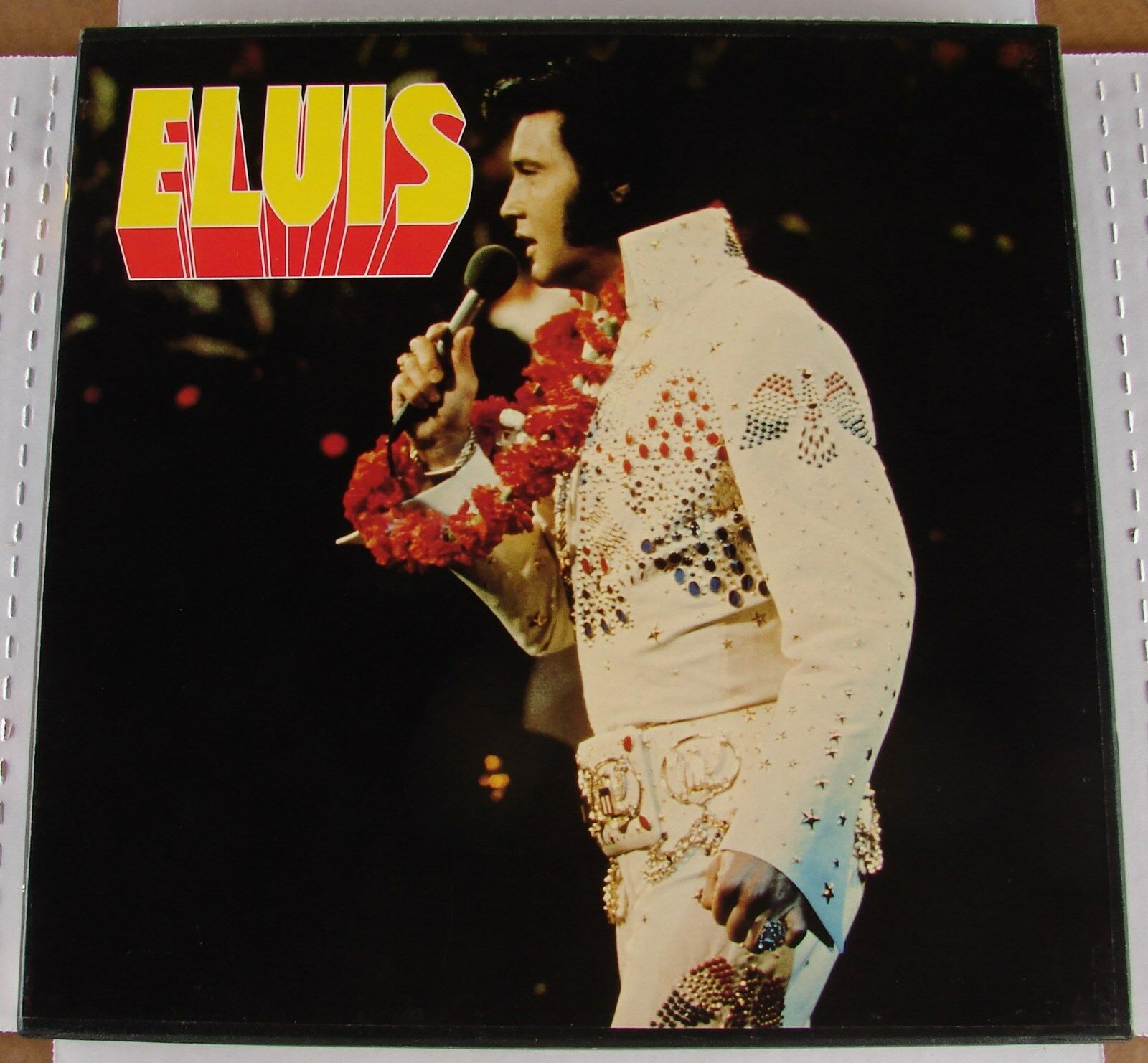 Elvis Presley 100 Super Rocks 7 LP Box Set ( With All 7 Original Rare Posters )