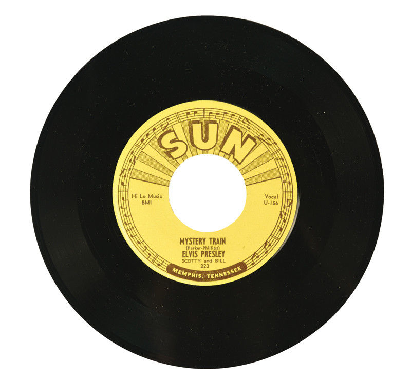 "ELVIS PRESLEY SUN 223 ""MYSTERY TRAIN"" ORIGINAL MINT UNPLAYED 45"