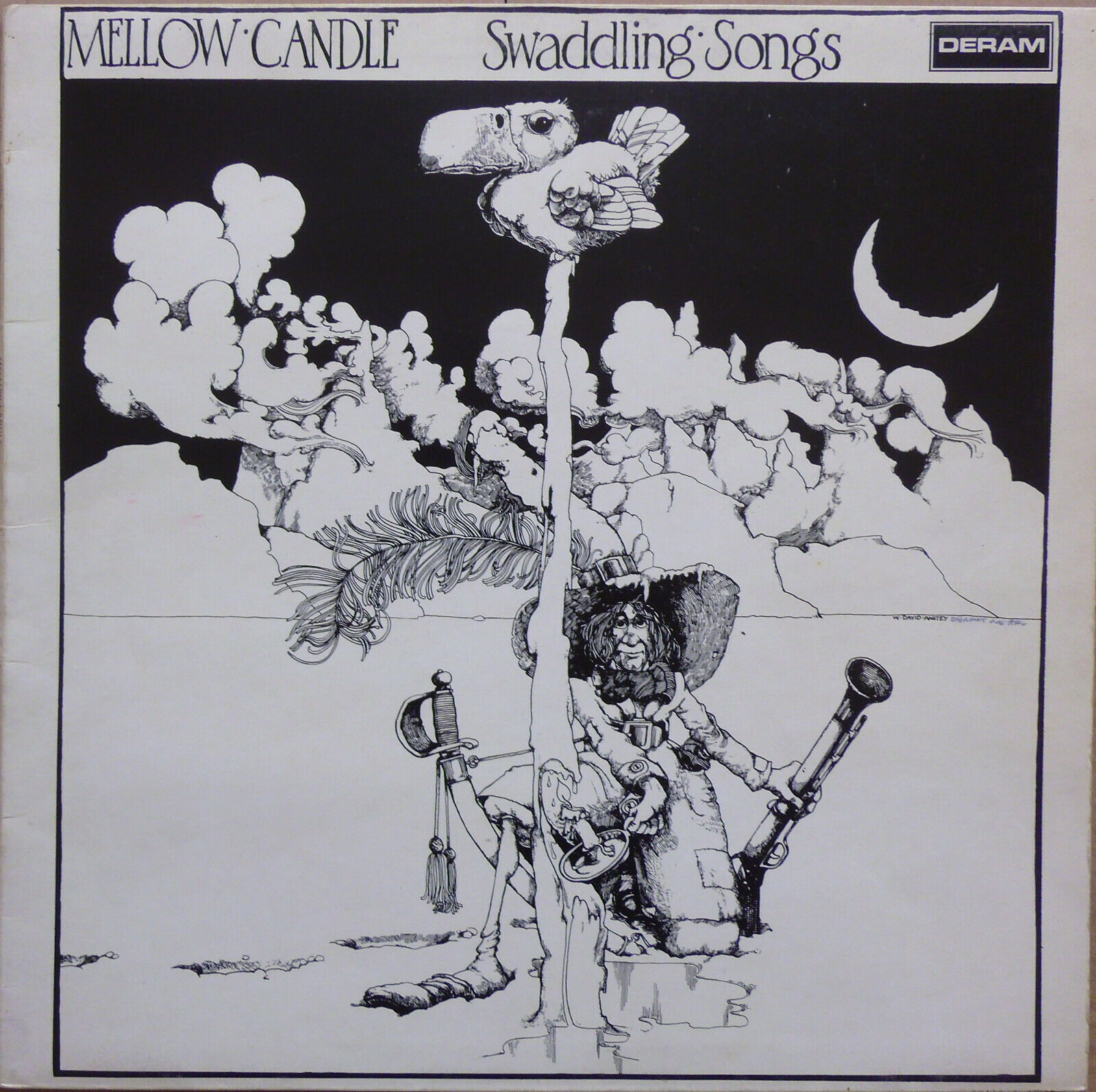 Mellow Candle - Swaddling Songs -  1972 UK First Pressing