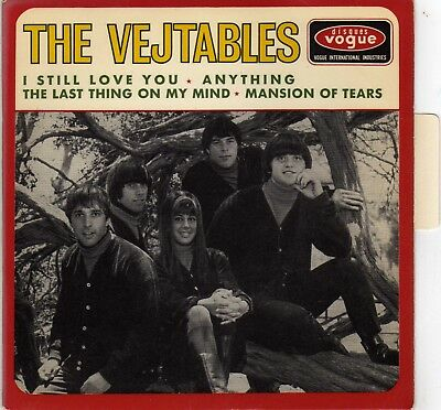"""THE VEJTABLES I STILL LOVE YOU FRENCH ORIG EP 45 PS 7"""""""