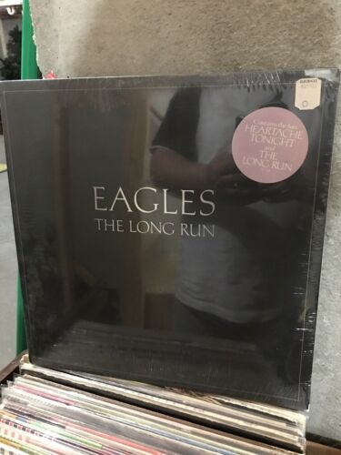 Eagles The Long Run 1979 5E-508 Vintage LP Vinyl Sealed  With Hype Sticker