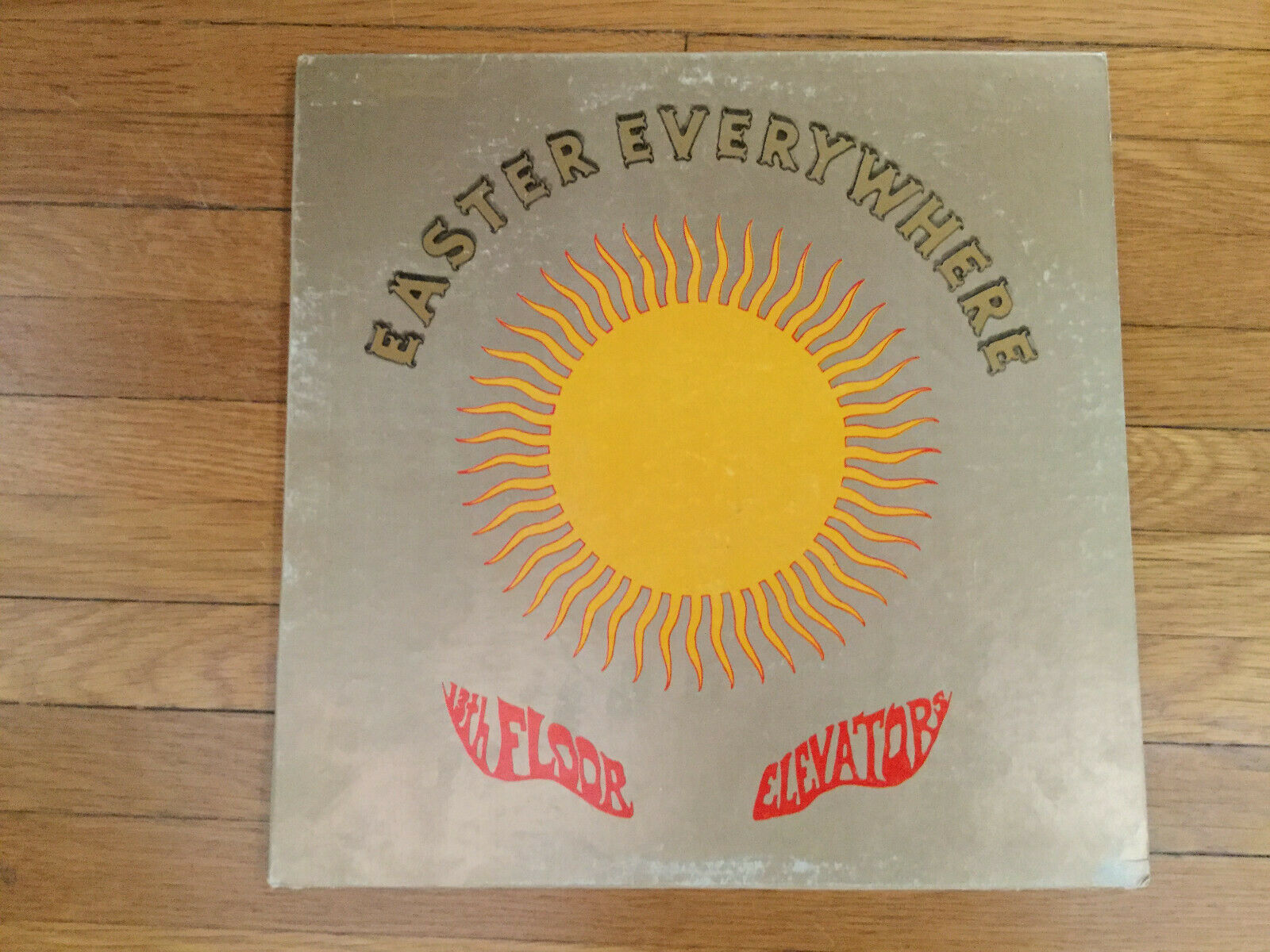 13th Floor Elevators Easter Everywhere IALP #5, MONO White Label Promo VG/VG